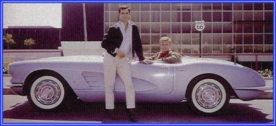 Classic Corvettes Route - Route 66 tv show car